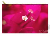Pink Bougainvillaea Carry-all Pouch