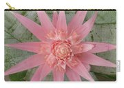 Pink Bromeliad Carry-all Pouch