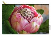 Pink Bud Waratah Carry-all Pouch