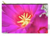 Pink Cacti Flowers Carry-all Pouch