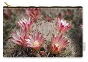 Pink Cactus Flowers 2 Carry-all Pouch