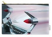 Pink Cadillac Eldorado Tail Fin Carry-all Pouch