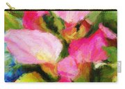 Pink Calla Lilly Carry-all Pouch