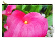 Pink Calla Lily Macro Flower Art Print Lilies Baslee Troutman Carry-all Pouch