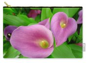 Pink Callas Carry-all Pouch