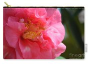 Pink Camelia Closeup Carry-all Pouch