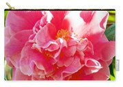 Pink Camellia At Pilgrim Place In Claremont-california  Carry-all Pouch