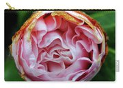 Pink Camellia Bud Carry-all Pouch