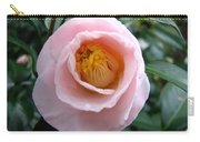 Pink Camellia Carry-all Pouch