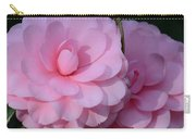 Pink Camellias Carry-all Pouch
