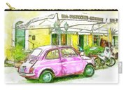 Pink Car Carry-all Pouch