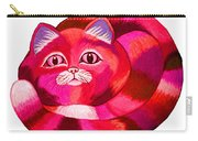 Pink Cat 2 Carry-all Pouch