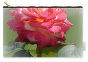 Pink Chiffon Ruffles Carry-all Pouch