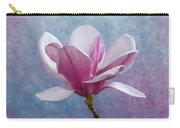 Pink Chinese Magnolia Flower Carry-all Pouch