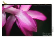 Pink Christmas Cactus Carry-all Pouch
