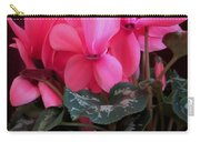 Pink Cyclamen 1 Carry-all Pouch