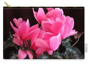 Pink Cyclamen 2  Carry-all Pouch