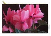 Pink Cyclamen  Carry-all Pouch