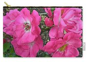 Pink Climbing Roses - Digitally Enhanced Carry-all Pouch