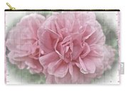 Pink Climbing Roses Carry-all Pouch