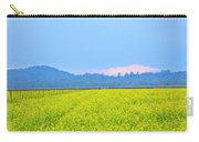 Pink Cloud Over The Mustard Fields Carry-all Pouch