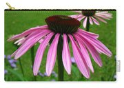 Pink Cone Flowers Carry-all Pouch