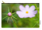 Pink Cosmos Bud Carry-all Pouch