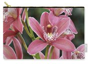 Pink Cymbidium Orchid #3 Carry-all Pouch