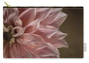 Pink Dahlia In Bloom Carry-all Pouch