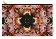 Pink Daisies Kaleidoscope Carry-all Pouch
