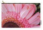 Pink Daisy Close-up Carry-all Pouch
