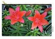 Pink Daylilies Carry-all Pouch