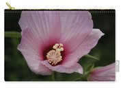 Pink Delicate Hibiscus Carry-all Pouch
