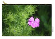 Pink Dianthus With Nigella Buds Carry-all Pouch