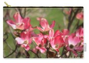 Pink Dogwood Blossoms Carry-all Pouch