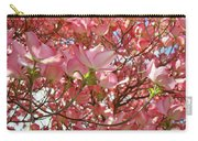 Pink Dogwood Flowering Tree Art Prints Canvas Baslee Troutman Carry-all Pouch