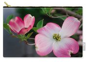 Pink Dogwood In The Morning Light Carry-all Pouch