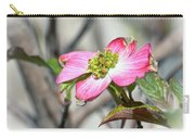 Pink Dogwood Carry-all Pouch by Kerri Farley