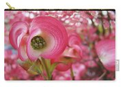 Pink Dogwood Tree Flowers Dogwood Flowers Giclee Art Prints Baslee Troutman Carry-all Pouch