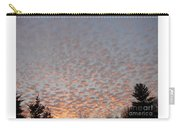 Pink Dotted Sky Carry-all Pouch