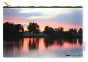 Pink Dusk Reflection Carry-all Pouch
