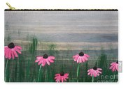 Pink Echinacea Carry-all Pouch