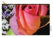 Pink Eye Rose Carry-all Pouch