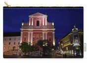 Pink Facade Of Franciscan Church Of The Annunciation Next To Urb Carry-all Pouch