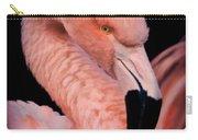 Pink Flamingo Portrait Carry-all Pouch