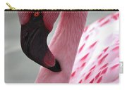 Pink Flamingo Profile Carry-all Pouch