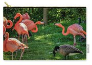 Pink Flamingos And Imposters Carry-all Pouch
