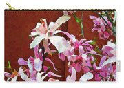 Pink Floral Arrangement Carry-all Pouch