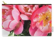 Japanese Peonies Carry-all Pouch