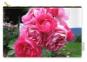 Pink Floribunda Roses Carry-all Pouch